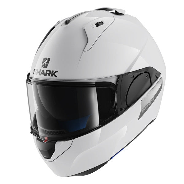 2016 Shark Evo-One Open Face / Full Face DVS Motorcycle Helmet - White - Shark -  - MSG BIKE GEAR - 1