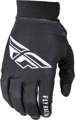 Fly Racing 2019 Adult Pro Lite MX Off Road Gloves - Black/White