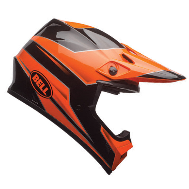 Bell MX 2017 MX-9 MIPS Motocross Off Road Bike Helmet - Stryker Flo Orange - Bell -  - MSG BIKE GEAR - 1