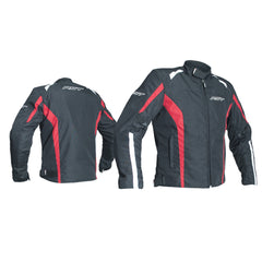 RST 2072 Rider CE Approved Textile Jacket - Black / Red