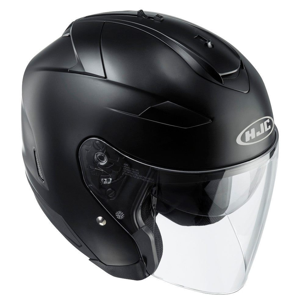 HJC IS-33 II Open Face Helmet - Matt Black