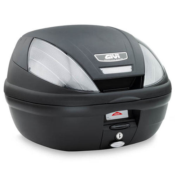 Givi E370NT 37 Litres Motorcycle Monolock Top Case Box inc Universal Fitting Kit