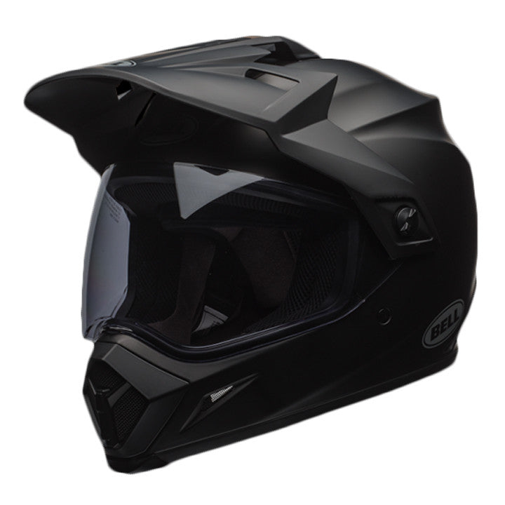 Bell MX-9 Adventure MIPS On/Off Road Motorcycle Helmet - Solid Matt Black - Bell -  - MSG BIKE GEAR - 1
