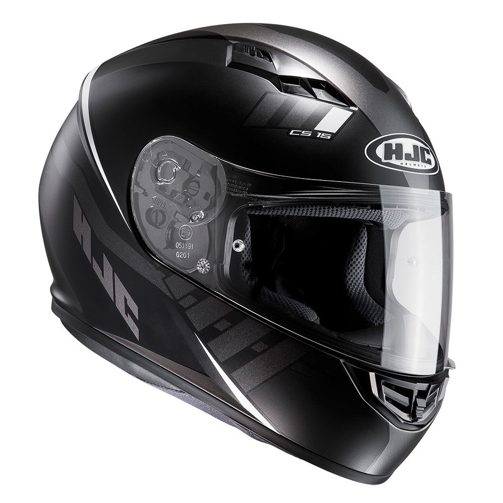 HJC CS-15 Full Face Helmet - Space Black