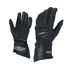 RST 2085 R-18 Leather Sports Gloves - Black