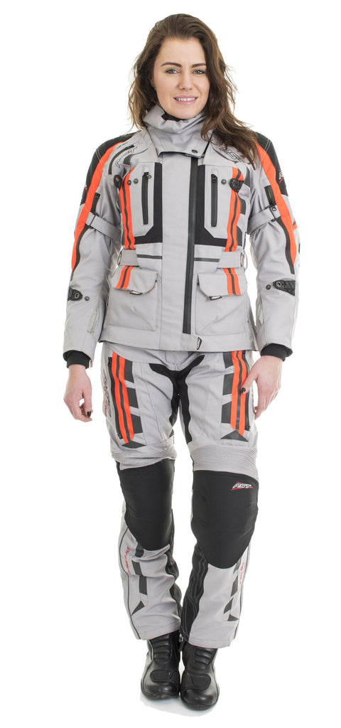 RST PRO SERIES LADIES 1426 PARAGON V LADIES TEXTILE MOTORCYCLE JACKET SIL - RST -  - MSG BIKE GEAR - 1