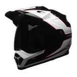 Bell MX-9 Adventure MIPS On/Off Road Motorcycle Helmet - Stryker Black/White - Bell -  - MSG BIKE GEAR - 1