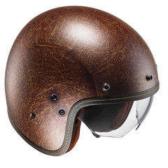 HJC FG-70S Open Face Helmet - Flat Brown