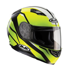 HJC CS-15 Full Face Helmet - Sebka Fluo