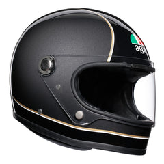 AGV X3000 Retro Full Face Helmet - Black / Grey
