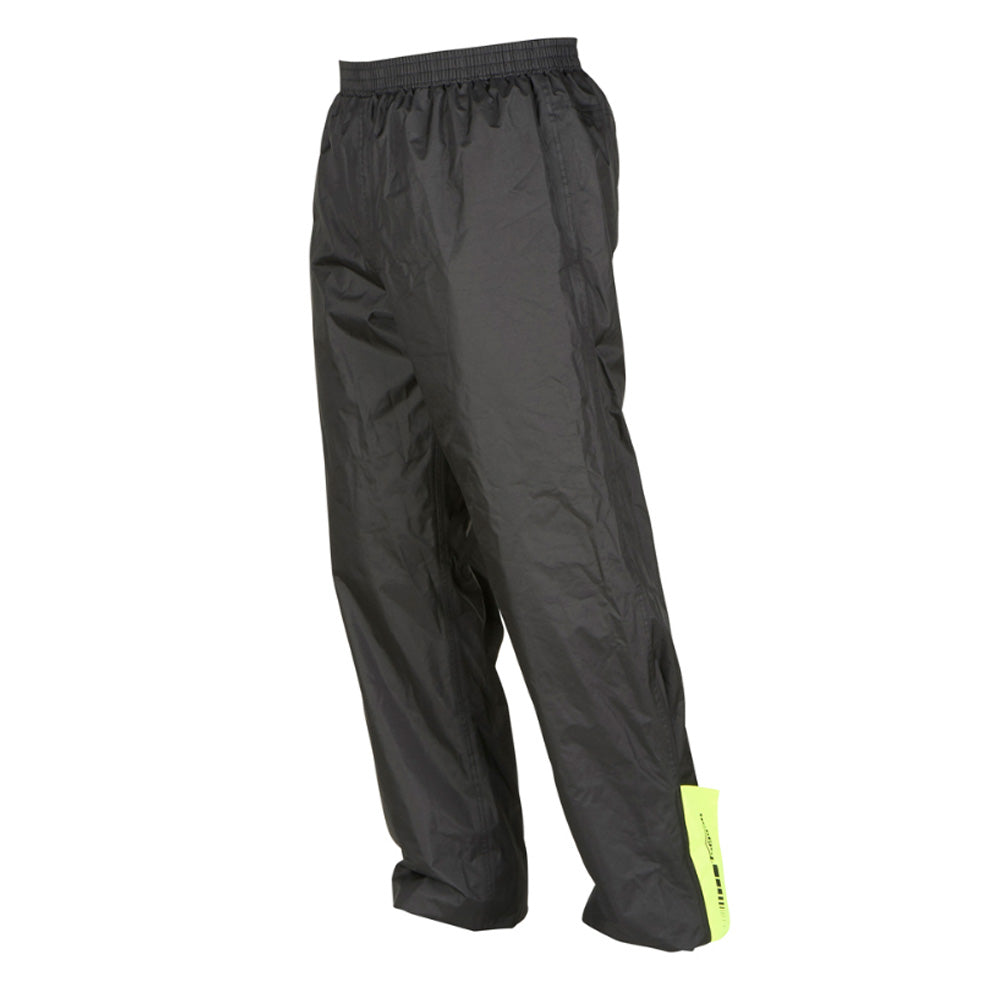Furygan Rain Pant Over Trousers - Black / Yellow