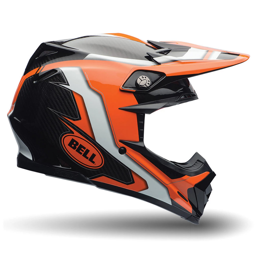 Bell MX 2016 Moto-9 Flex Adult MotoCross Helmet (Factory Orange/Black) - Bell -  - MSG BIKE GEAR - 1