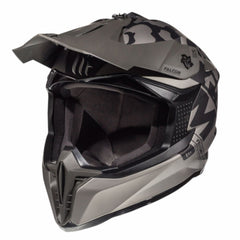 MT Falcon Karson Motocross Helmets - Matt Black