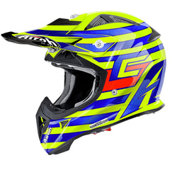 Airoh Aviator J Youth MX Helmet - Cairoli Qatar Yellow