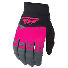 Fly Racing 2019 F-16 Youth Motocross Gloves - Pink / Black / Grey