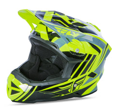 Fly 2017 Bike Default MTB Downhill BMX Full Face Youth Helmet Hi-Viz/Black - Fly Racing -  - MSG BIKE GEAR - 1