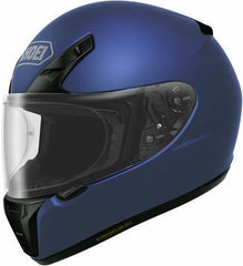 Shoei RYD Full Face Motorcycle Helmet - Matt Blue Metallic
