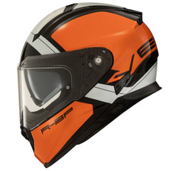 Vemar Zephir Mars Helmet - Metallic Orange/White