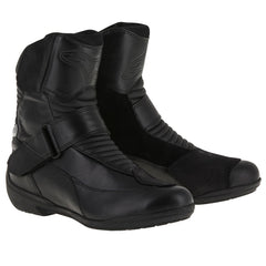 Alpinestars Valencia Stella Waterproof Ladies Motorcycle Boots - Black - Alpinestars -  - MSG BIKE GEAR - 1