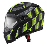 Caberg Stunt Full Face Touring Motorcycle Helmet - Steez Matt Black/Yellow - Caberg -  - MSG BIKE GEAR - 2