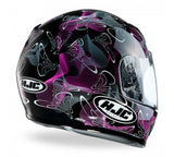 HJC CL-Y Ladies / Childrens Full Face Helmet - Tableau Black / Pink