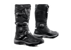Forma Leather Adventure Boots - Black