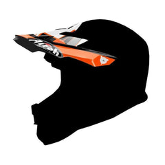 Airoh Junior Replacement MX Helmet Peak - Chief Orange