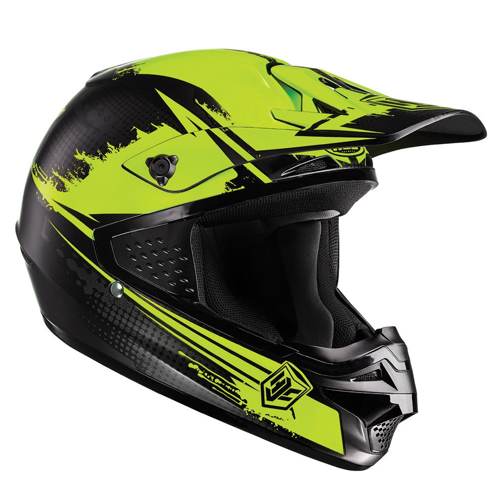 HJC CS-MX Enduro Off Road Motocross MX Helmet Zealot MC3SF Yellow - HJC -  - MSG BIKE GEAR - 1