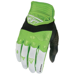 Fly Racing F-16 Adult MX Motocross Enduro Off Road Gloves - Green/White