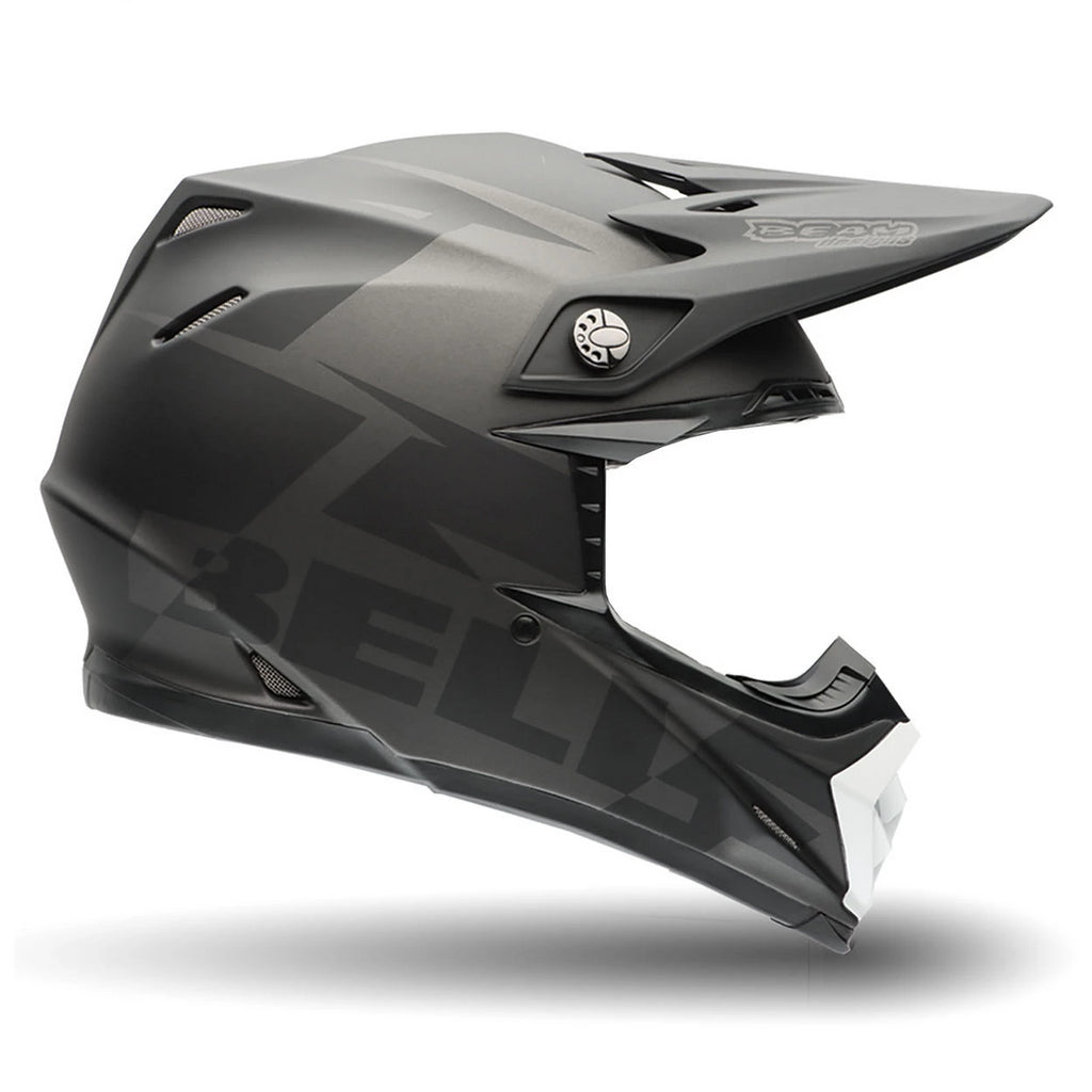 Bell MX-9 Off Road Enduro MotoCross Helmet (Baracade Black) - Bell -  - MSG BIKE GEAR
