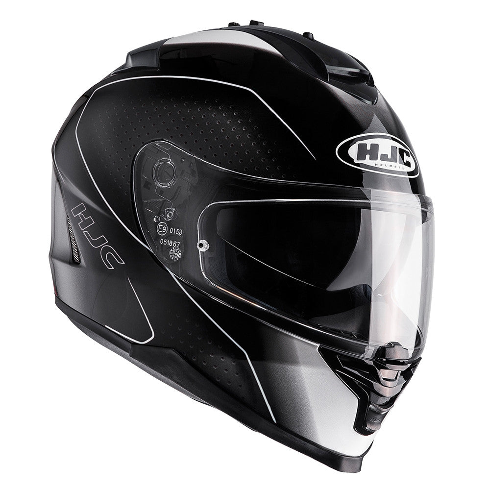 HJC IS-17 Full Face Helmet - Arcus Black