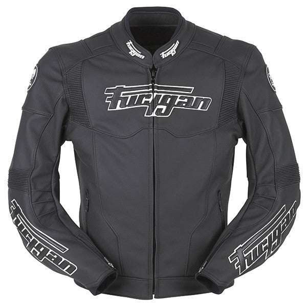 Furygan Brutale EVO 3 Motorbike Motorcycle Men's Jacket - Black/White - Furygan -  - MSG BIKE GEAR - 1
