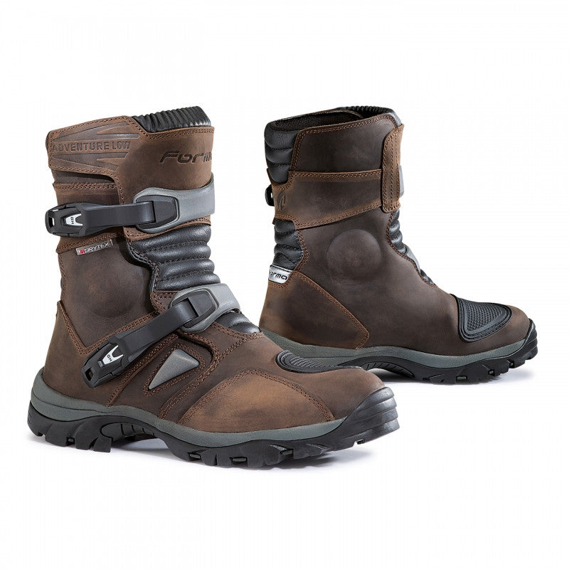 FORMA ADVENTURE LOW LEATHER ENDURO ATV TOURING WATERPROOF MOTORCYCLE BOOTS BROWN - FORMA -  - MSG BIKE GEAR