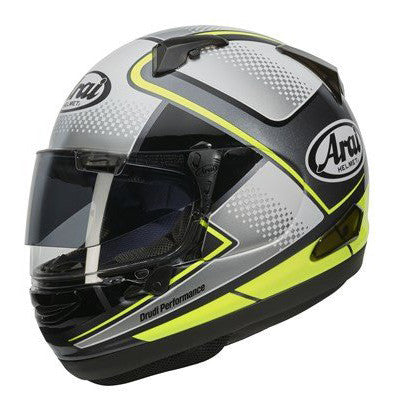 Arai QV Pro Sports Full Face Helmet - Box Yellow