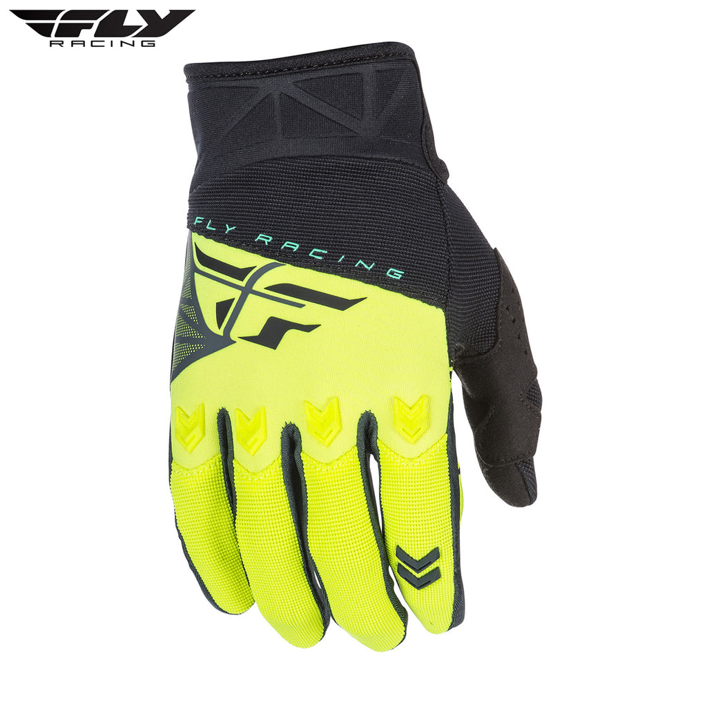 Fly Racing 2018 F-16 MX Gloves - Black / Hi-Viz