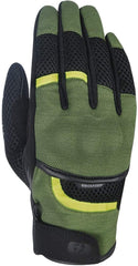 Oxford Brisbane Air Textile Gloves - Black, Green