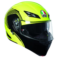 AGV Compact-ST Vermont Flip Front Helmet - Yellow / Black