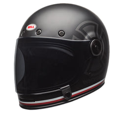 Bell 2017 Classic Bullitt Full Face Motorcycle Helmet - Indepependent Black - Bell -  - MSG BIKE GEAR - 1