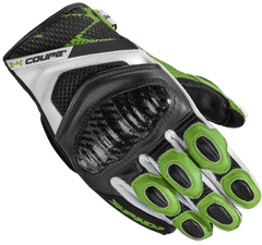 Spidi X4 Coupe CE Gloves - Black/Green
