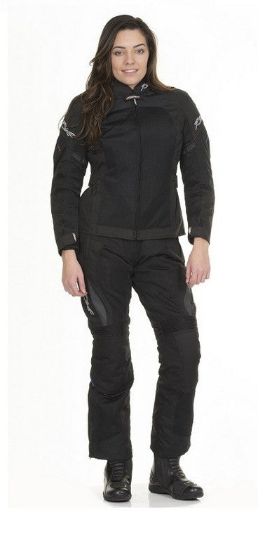 RST VENTILATED BROOKLYN 1184 LADIES ARMOURED TEXTILE MOTORCYCLE JACKET BLACK - RST -  - MSG BIKE GEAR