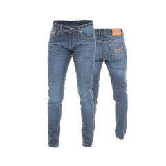 RST 2221 ARAMID STRAIGHT SHORT LEG LADIES MOTORCYCLE JEANS BLUE - RST -  - MSG BIKE GEAR - 1