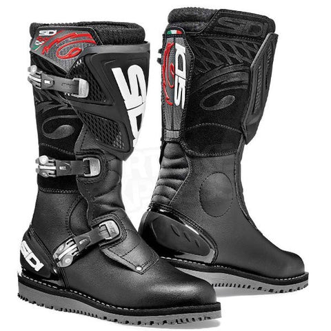 Sidi Trial Zero 1 Trials Bike Dirt Off Road Motorcycle Boots - Black - Sidi -  - MSG BIKE GEAR - 1