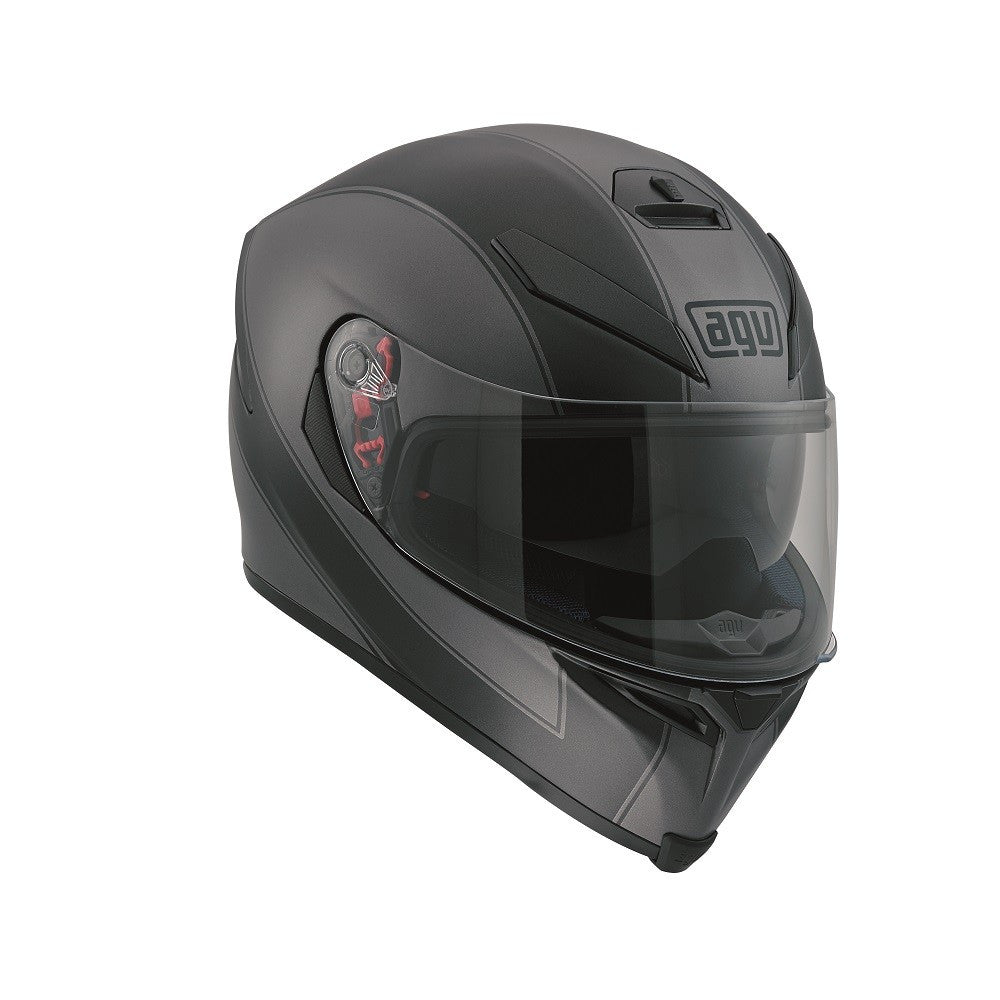 AGV K5-S DVS Sports/Touring Full Face Motorcycle Helmet - Enlace Black/Grey - AGV -  - MSG BIKE GEAR