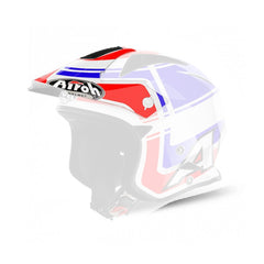 Airoh TRR Sr Replacement MX Helmet Peak - Wintage Blue Gloss