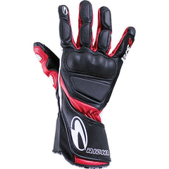 Richa WSS Leather Sports Summer Racing Motorcycle Gloves Black/red - Richa -  - MSG BIKE GEAR - 1