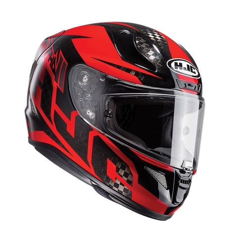 HJC RPHA 11 Full Face Helmet - Lowin Carbon Red
