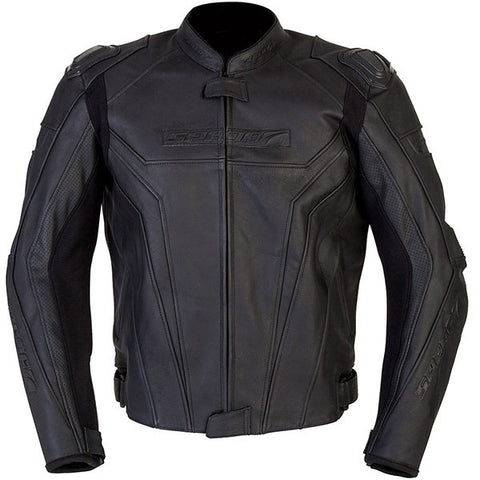 SPADA CORSA GP WATERPROOF MOTORCYCLE MOTORBIKE JACKET - BLACK new - Spada -  - MSG BIKE GEAR