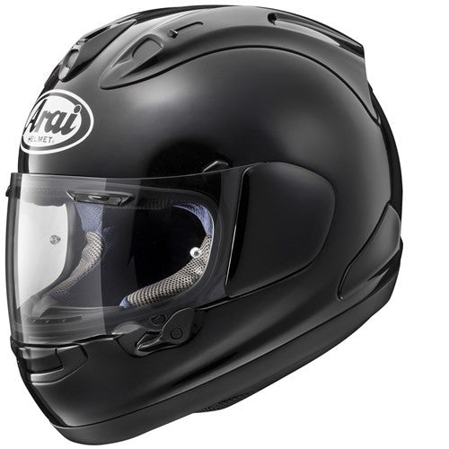 Arai RX-7V Full Face Race Motorbike Motorcycle Crash Helmet Lid Diamond Black - Arai - - MSG BIKE GEAR - 1