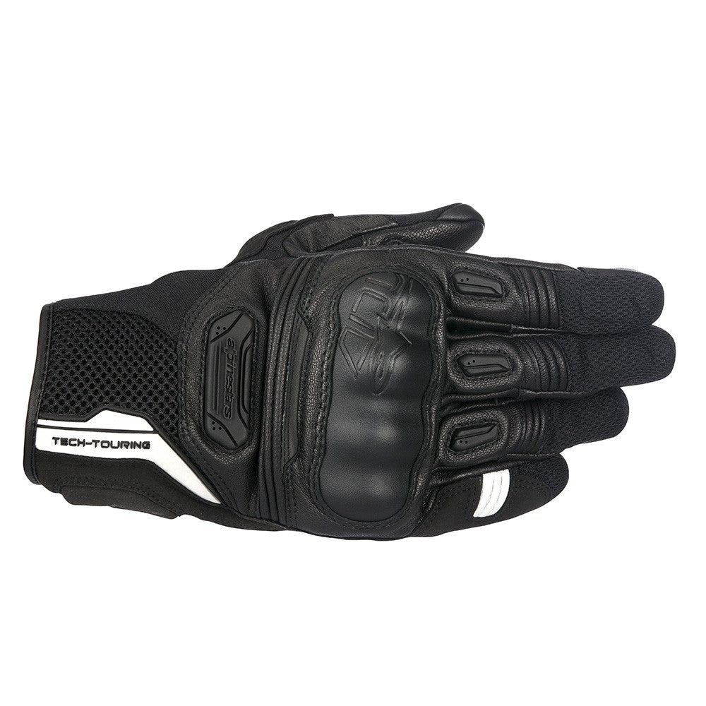 Alpinestars Highlands Leather Gloves - Black
