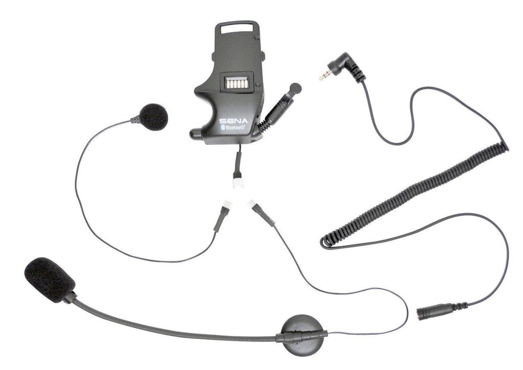 Sena SMH-A0304 Helmet Clamp Kit for Earbuds with Attachable Boom Microphone - Sena -  - MSG BIKE GEAR